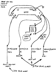 hei distributor wiring diagram ford annavernon gm wiring diagrams ford alternator diagram mopar hei wiring diagram nilza
