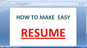 How To Make A Resume On Microsoft Word Haadyaooverbayresort Com