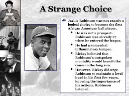 Image result for Robinson stood up for equal rights when refused to go back of a segregated bus.