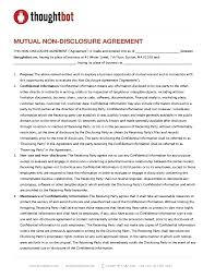 Mutual Confidentiality Agreement template Mutual Confidentiality Agreement Template 24