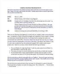Business Proposal Memo Sample Formal Company Webbacklinks Info