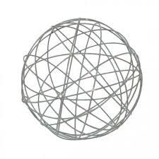 Wire Balls Decoration Torre Metal Orb Wire Ball Metal Orb Decorative Balls 2