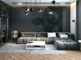 gray stone fireplace wall l exposed grey black leather sofa vintage white and walls gray stone fireplace