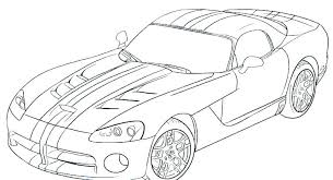 Pleasant Sport Car Coloring Pages Preschool Photos Of Pretty Cars