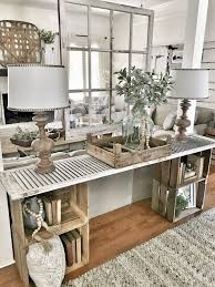 home decorating ideas simple diy console table bless this nest entryway table hanging