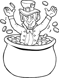 Coloring pages are learning activity for kids, this website have coloring pictures for print and color. Leprechaun Pot Of Gold Coloring Pages Leprechaun Coloring Pages Coloring Home
