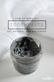 instantly whiten teeth with this diy charcoal toothpaste recipe