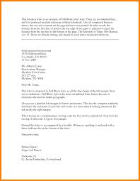 Formal Business Letter 07. Letter Format For Legal Best Business ...