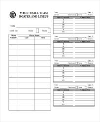 Roster Sheet Barca Fontanacountryinn Com