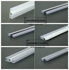 shower door seal strip glass waterproof seals water plastic guard