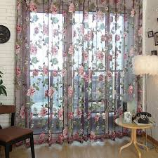 Window Valance Living Room Valance For Living Room Windows With Simple Flower Pattern For