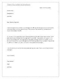 Brilliant Ideas Of Sample Thank You Letter Resigning Employee Sample