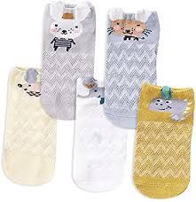 Amazon.com: Kidstree Cute <b>Mesh</b> Girls Socks <b>Summer Thin</b> Cotton ...