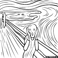 Small Picture Famous Paintings Coloring Pages Page 1