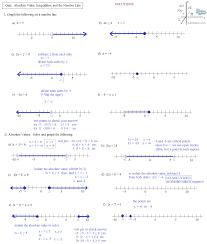 absolute value inequalities worksheet with answers free worksheets algebra 2 worksheets equations and inequalities worksheets