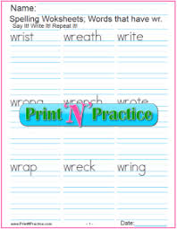 Worksheet for (very) young learners who have just started reading. 44 Phonics Worksheets Practice Phonics Words Copywork