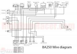 diagram for baja cc atvs wiring diagram for baja 250cc atvs
