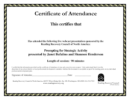 Sample Certification Letter Of Attendance Best Of Temp Perfect