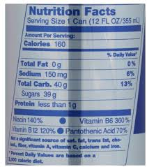 red bull energy drink nutrition facts