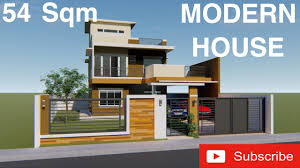 House Design 2 Storey Modern Modern House Design 3d With Walk Through 2 Storey Residential With Roof Deck