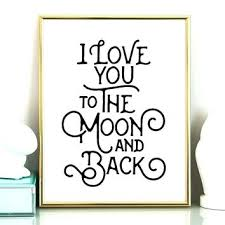 i love you to the moon and back wall art i love you to the moon  on love you to the moon and back wall art uk with i love you to the moon and back wall art love you to the moon and
