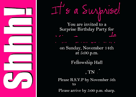 25th birthday invitation template surprise party as winsome designs for you templates free