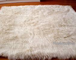 white fuzzy carpet. luxury faux fur rug long sheepskin white fuzzy carpet