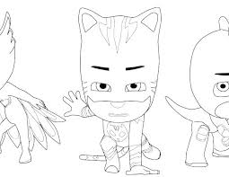 Coloring Pages Catboy Pj Masks Coloring Pages Free Printable