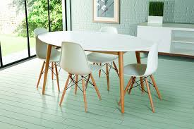 oval dining room. Furniture: White Oval Dining Table Floren French Country Wash Oak Extendable Breakfast 24 From Room 8