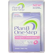 Birth Control With Plan B Plan B One Step Emergency Contraceptive 1 Tablet 1 5 Mg By Plan B Original Version