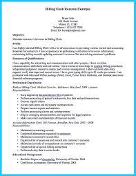 Sample Resume For Medical Billing Specialist Medical Coding Resume Nardellidesign Com Billing Clerk Sampl Sevte 18