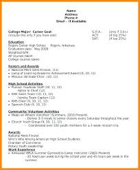 Scholarship Resume Template Adorable Free College Scholarship Resume Template 28 High School Pear Tree