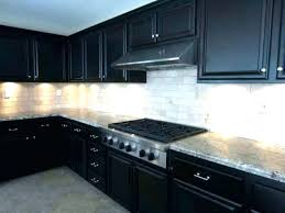 glass and black cabinets backsplash for cherry granite countertops white dark cabinets backsplash for black best tile