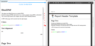 Convert HTML/CSS Content to a Sleek Multiple Page PDF File Using ...