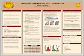 Science Research Posters Posters4research Free Powerpoint Scientific Poster Templates