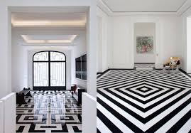 black and white tile floor. Beautiful Tile Best Black And White Tile Pierre Yovanovitch Designs Photo Details  From  These Image We Try Intended And Floor