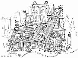 Gravity Falls Coloring Pages Ps25 Gravity Falls Coloring Sheets