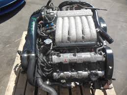 mitsubishi 3000gt vr4 engine. jdm mitsubishi 3000gt 6g72 twin turbo engine gto vr4 stealth 6g72tt 1992 vr4 g