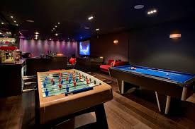 game room lighting. awesome home game room designs with modern apartment property harrison varma london uk games bar lighting