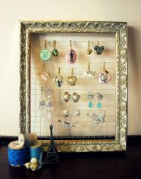 Jewelry Organizer Diy Best Jewelry Organizer Diy