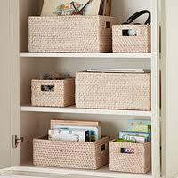 Decorative <b>Storage Baskets</b>, <b>Wicker Baskets</b> & Woven Storage <b>Bins</b> ...