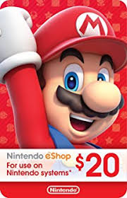 20 com Video Games Gift Eshop digital Card Code Nintendo Amazon 5Tvqwd5