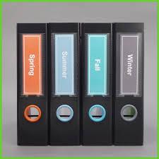 binder spine labels solid color spine label template in the colors orange light blue