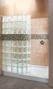 fascinating convert tub to shower ideas 67 curved glass block walk bathroom bath large size