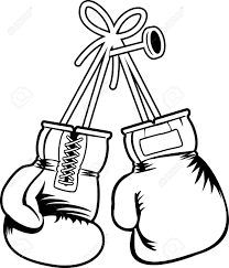 boxing gloves coloring pages best of boxing glove pattern use the printable outline for crafts creating