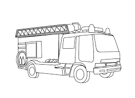 Small Picture Fire engine1coloring page Coloring pages Pinterest Kid