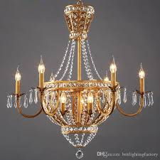 american style vintage living room crystal chandelier light dining room hotel culb chandeliers rustic country style restauant pendant lamps glass chandelier