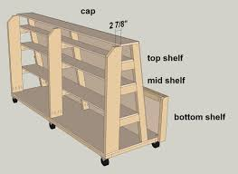 add the cap and shelves