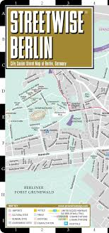 streetwise berlin map laminated city center street map of berlin Berlin Sites Map streetwise berlin map laminated city center street map of berlin, germany folding pocket size travel map with metro map including s bahn and u bahn berlin tourist sites map