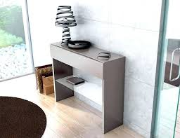 small glass console tables modern entryway table the ideas inside cons